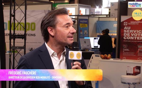 """Frédéric Fauchère, Samsung : """"On peut remplacer son PC par un mobile"""""""