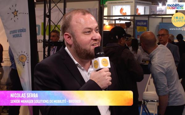"""Nicolas Serra, Brother : """"Les entreprises impriment moins mais elles impriment mieux"""""""