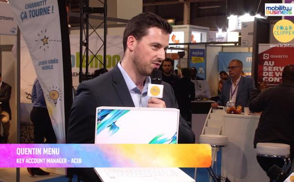 """Quentin Menu, Acer : """"Les professionnels de l'image ont besoin de puissance en mobilité"""""""