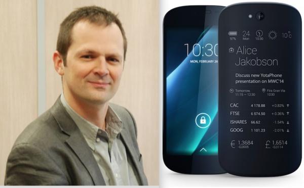 """José Caballero : """"le Yotaphone est un challenger intéressant pour l'iPhone"""""""